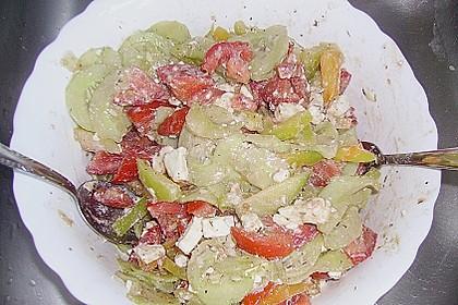 Griechischer Salat klassisch 5