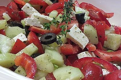 Griechischer Salat klassisch 2