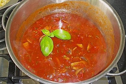 007  -  Tomaten - Champignon - Soße 7