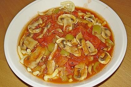 007  -  Tomaten - Champignon - Soße 1