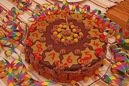 Silvester - Torte 3