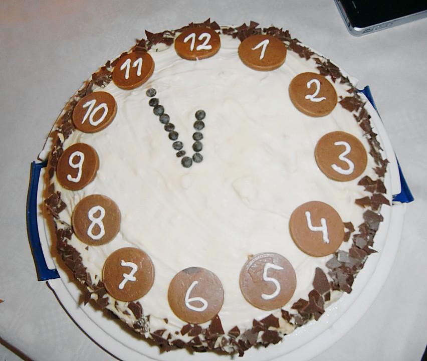 Silvester - Torte von mima53 | Chefkoch.de