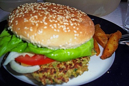 Kichererbsen Burger 8