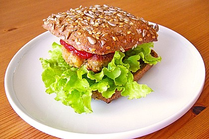Kichererbsen Burger 2