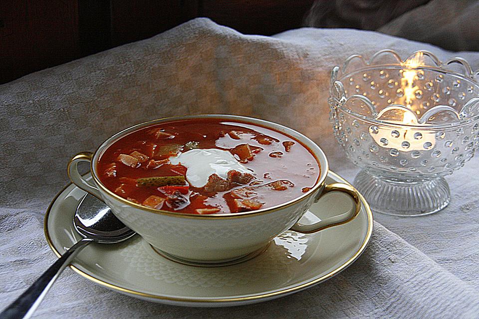 leckere russische suppe von missrussia. Black Bedroom Furniture Sets. Home Design Ideas