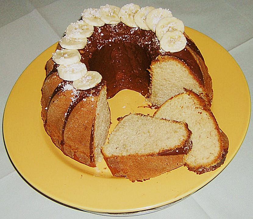 rezept bananen gugelhupf