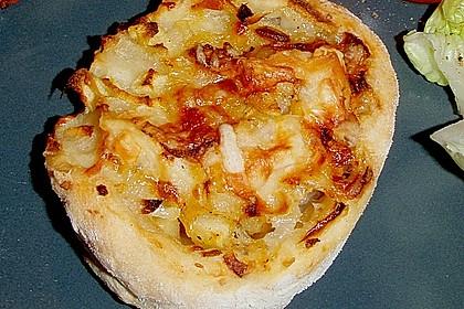 Zwiebel - Apfel Schnecken 4