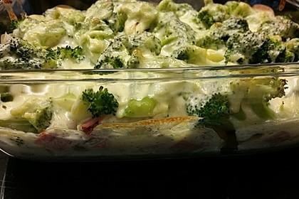 Brokkoli-Nudelauflauf 5