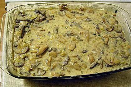 Spinat - Lachs - Auflauf 1