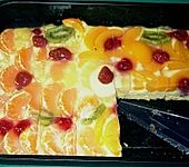 Obst - Blechkuchen (Bild)