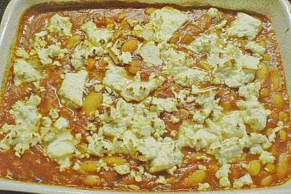 Riesenbohnen in pikanter Tomatensauce 17