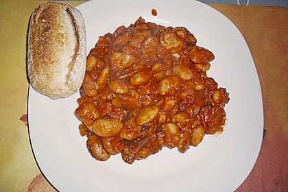 Riesenbohnen in pikanter Tomatensauce 6