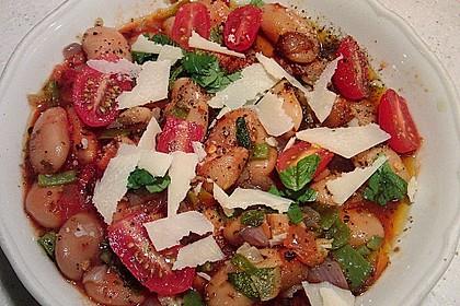 Riesenbohnen in pikanter Tomatensauce 1