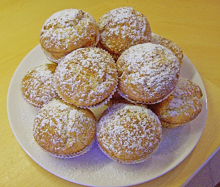 Bananen Joghurt Muffins : bananen joghurt muffins rezept mit bild von dirkdus ~ Lizthompson.info Haus und Dekorationen