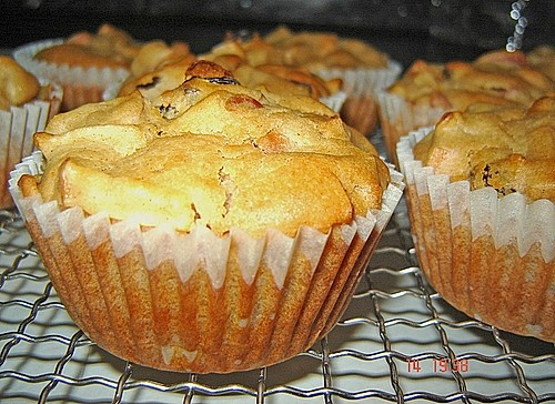apfel zimt muffins rezept mit bild von atomratte. Black Bedroom Furniture Sets. Home Design Ideas