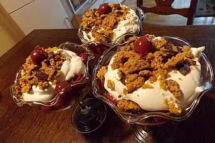 Lebkuchen - Kirsch - Dessert 12