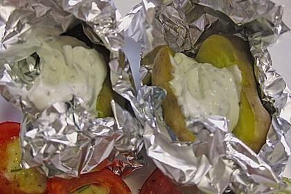 Baked Potatos mit Sour Creme 14