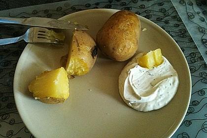 Baked Potatos mit Sour Creme 12