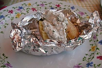 Baked Potatos mit Sour Creme 3