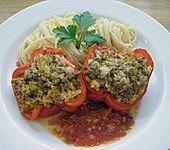 Gefüllte Paprika mit Hackfleisch (Bild)
