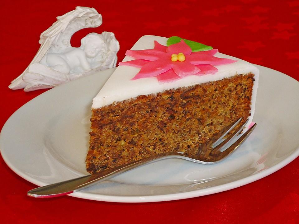 Kuchen mit lebkuchen