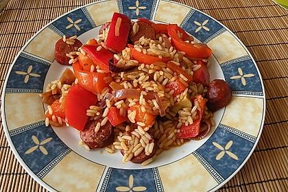 Ungarische Reispfanne 1