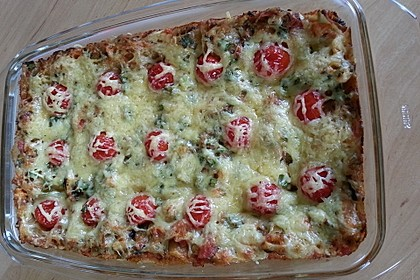 Zucchini - Lasagne ohne Fleisch 18