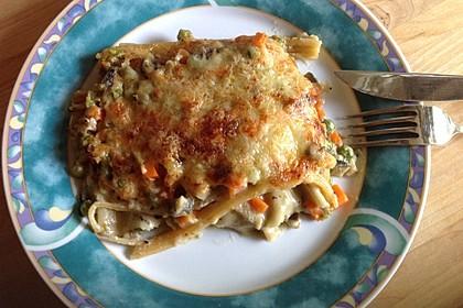 Zucchini - Lasagne ohne Fleisch 7
