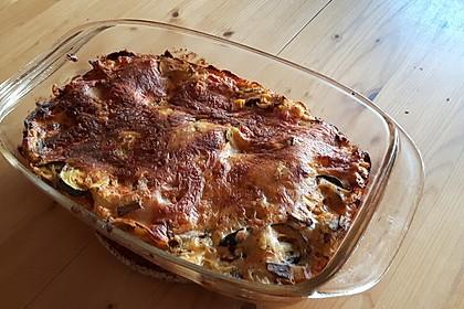 Zucchini - Lasagne ohne Fleisch 16