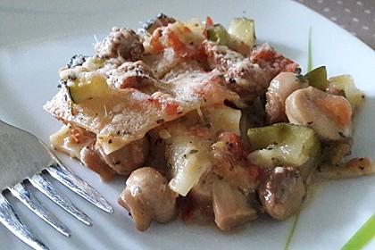 Zucchini - Lasagne ohne Fleisch 58