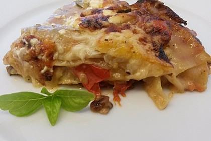 Zucchini - Lasagne ohne Fleisch 17