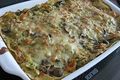Zucchini - Lasagne ohne Fleisch 41