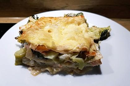 Zucchini - Lasagne ohne Fleisch 4