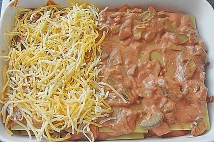 Zucchini - Lasagne ohne Fleisch 59