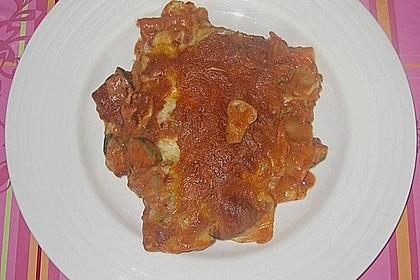 Zucchini - Lasagne ohne Fleisch 83