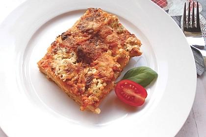 Zucchini - Lasagne ohne Fleisch 43