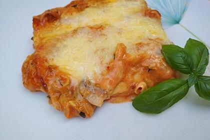 Zucchini - Lasagne ohne Fleisch 44