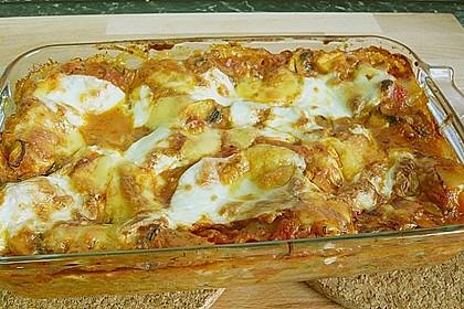 Zucchini - Lasagne ohne Fleisch 63