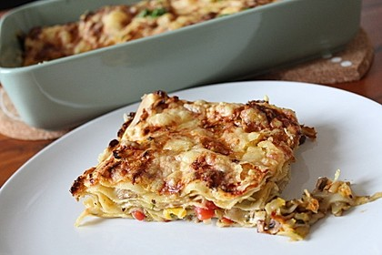 Zucchini - Lasagne ohne Fleisch 1