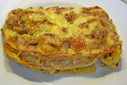 Zucchini - Lasagne ohne Fleisch 31