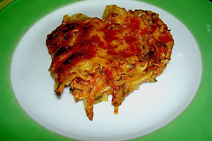Zucchini - Lasagne ohne Fleisch 30