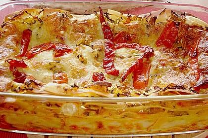 Zucchini - Lasagne ohne Fleisch 20