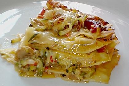 Zucchini - Lasagne ohne Fleisch 71