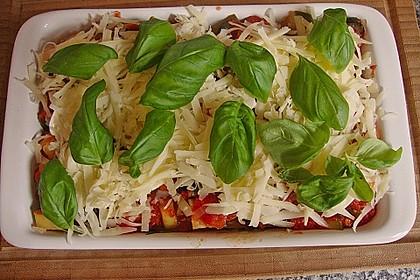 Zucchini - Lasagne ohne Fleisch 21