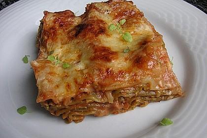 Zucchini - Lasagne ohne Fleisch 5