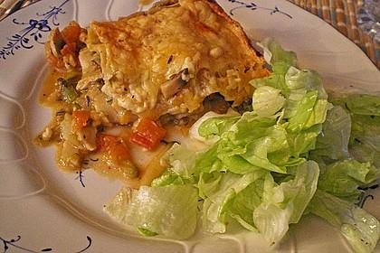 Zucchini - Lasagne ohne Fleisch 34