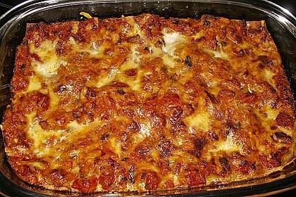 Zucchini - Lasagne ohne Fleisch 54