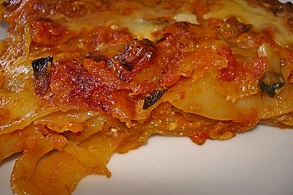 Zucchini - Lasagne ohne Fleisch 22