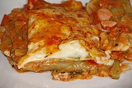 Zucchini - Lasagne ohne Fleisch 45