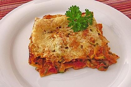 Zucchini - Lasagne ohne Fleisch 32